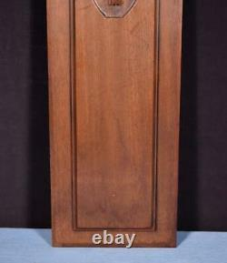 29 French Antique Carved Architectural Panel Solid Walnut Wood Trim