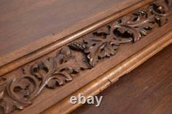 38 Antique Gothic Revival Hand Carved Panel/Trim in Oak (lot A)