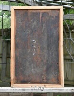 Antique Chinese Wood Carving / Carved Panel, Qing Dynasty, 19th c