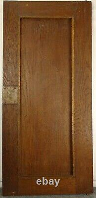 Antique French Hunting Style Carved Panel/Door Solid Oak Wood with Bird