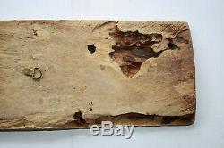 Antique Zanzibar Arab Swahili Coast Indian Ocean carved wood door panel