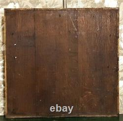 Black forest hunting carving panel Antique french carving architectural salvage
