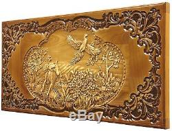 Decorative Handmade Carved Wall Wooden Panel Fine Ash-tree Wood Cool Gift Ideas