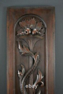 French Antique Carved Wall Panel Door Dolphin Renaissance Style 1