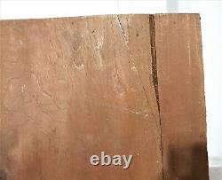 Griffin scroll leaves wood carving panel Antique french architectural salvage