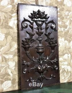 Home abundance symbol panel Antique french oak carving architectural salvage
