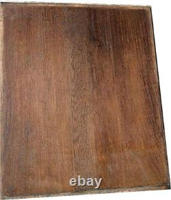 Pair of antique solid French carved wood wall panels hunting