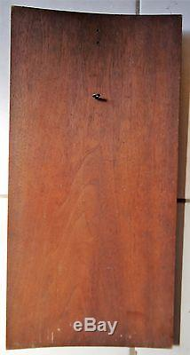 Stuning Mid 19th C French wooden hand carved panel, classical figurine