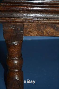 Stunning Early 18th Century Bible Box On Later Stand, Carved Panels, c1720